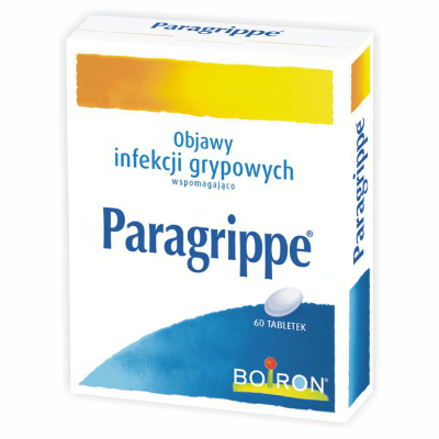 Paragrippe - homeopatia na stany grypowe